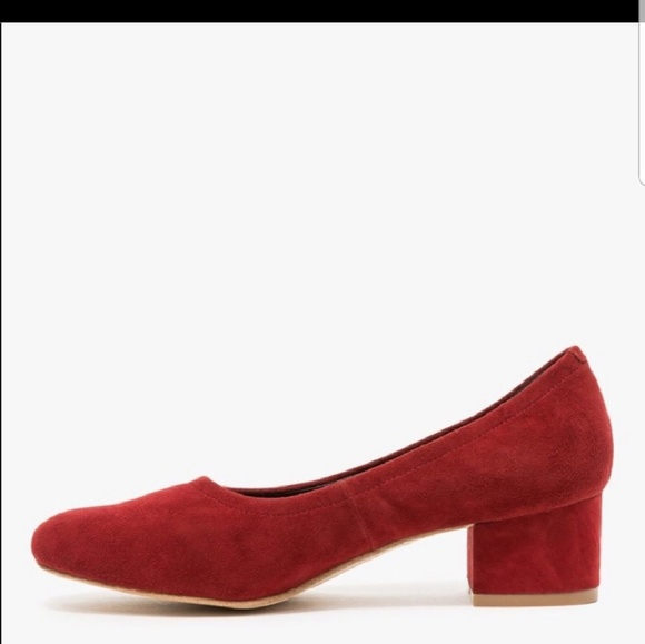 3bc450770b3 Jeffrey Campbell Shoes - Jeffrey Campbell pump Bitsie red suede low heel